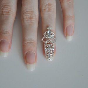 ❗️LAST ONE❗️ Fancy Fingernail Art Ring - Style #1